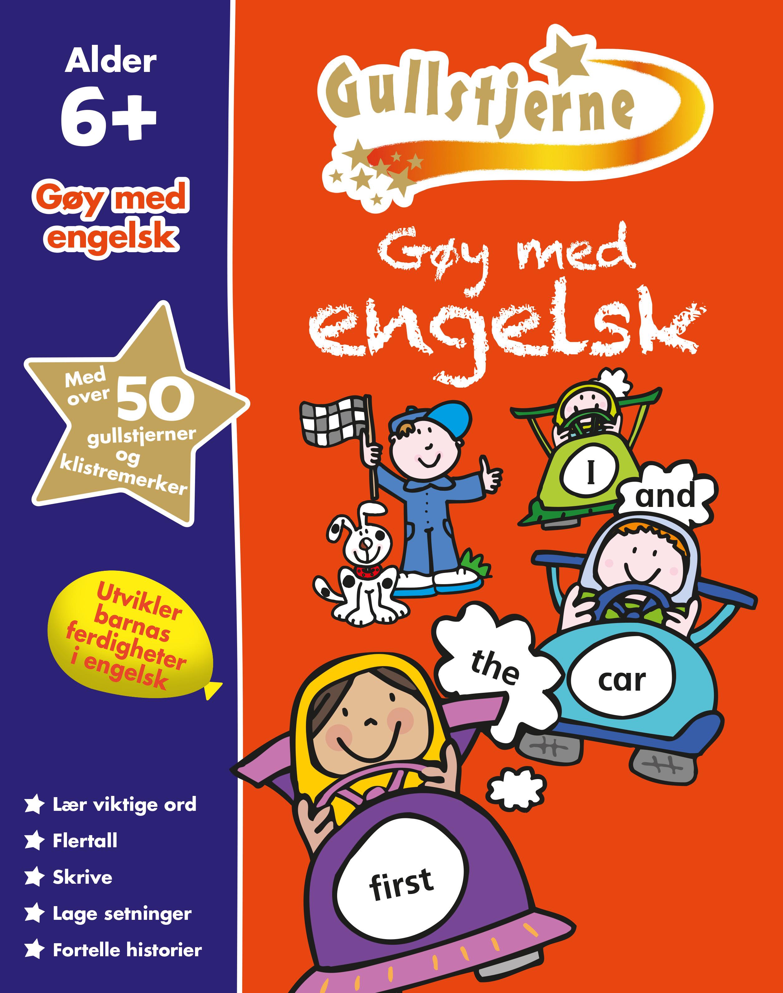 Forskjellige spektrum forlag - Gøy med engelsk 6+. Egenprod gullstjerne SB-75