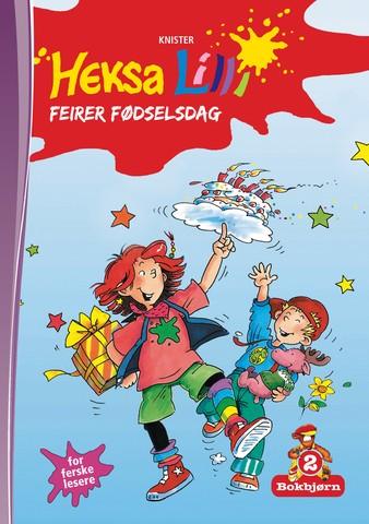 Bokbjørn: Heksa Lilli feirer fødselsdag