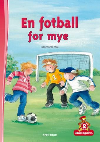 Bokbjørn: En fotball for mye