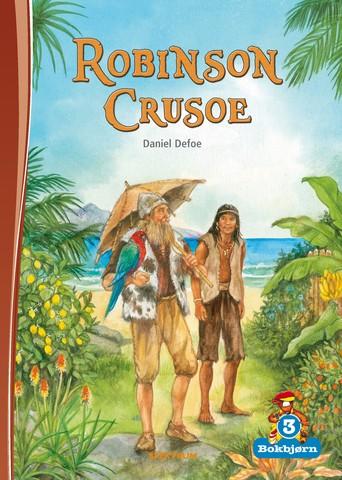 Bokbjørn: Robinson Crusoe