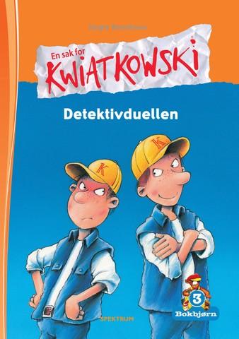 Bokbjørn: Kwiatkowski - Detektivduellen