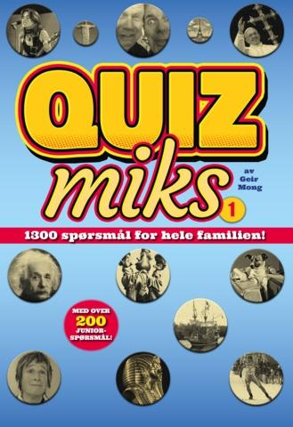 Quizmiks 1. 1300 spørsmål for hele familien