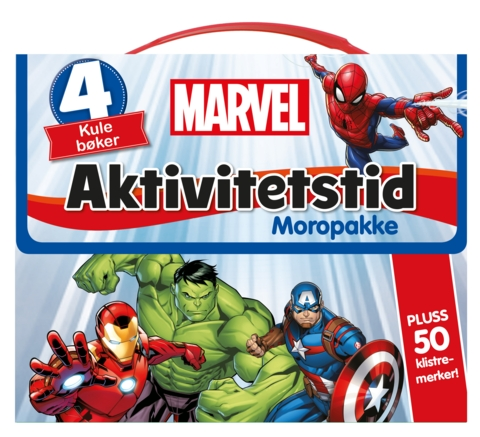 Marvel Aktivitetstid. Moropakke