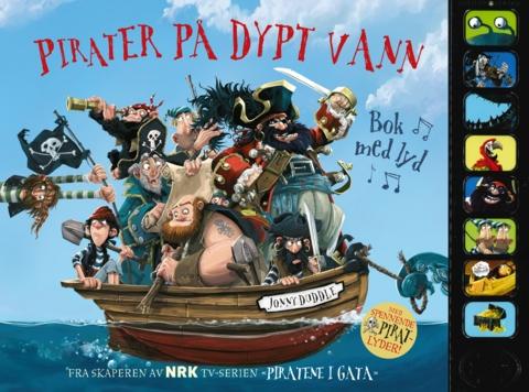 Pirater på dypt vann. Bok med lyd