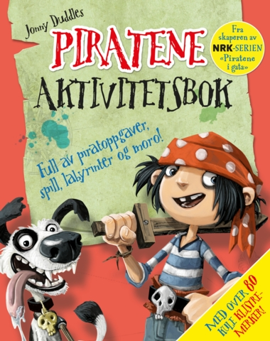 Piratene – aktivitetsbok