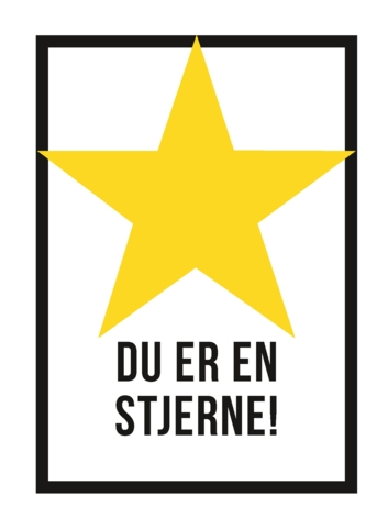 Du er en stjerne