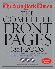 The New York Times : the complete front pages 1851-2009