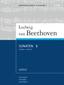 Sonaten 3 : für Klavier : Könemanns noter for piano = Sonatas 3 : for piano = Sonates 3 : pour piano