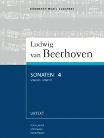 Sonaten 4 : für Klavier = Sonatas 4 : for piano = Sonates 4 : pour piano