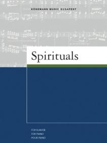 Spirituals : für Klavier = for piano = pour piano