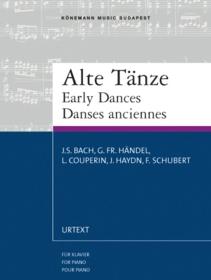 Early dances : Könemanns tegnebøker = Early dances : for piano = Dances anciennes :  pour piano