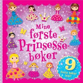 Mine første prinsessebøker (9 bøker i 1)