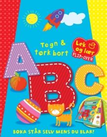 Tegn og tørk bort ABC (lek og lær flipover)