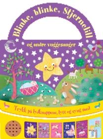 Vuggesanger for barn (bok med lydknapper)
