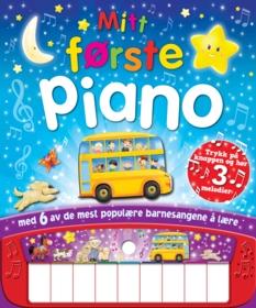 Mitt første piano (bok med tangenter)
