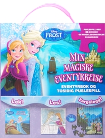 Frost - Min magiske eventyrreise. Eventyrbok og tosidig puslespill