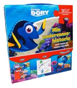 Oppdrag Dory. Mitt undervannseventyr. Eventyrbok og tosidig puslespill