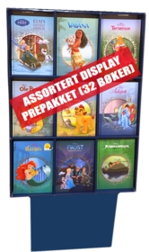 Display Disney Klassikere (32 bøker prepakk)