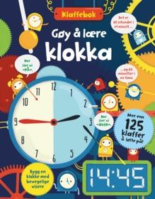 Gøy å lære klokka. Mer enn 125 klaffer å løfte på!