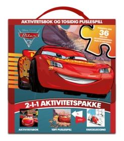 Biler 3 - aktivitetsbok og tosidig puslespill .