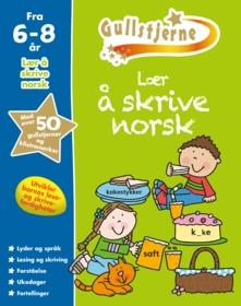 Lær å skrive norsk. Fra 6-8 år. Egenprod gullstjerne