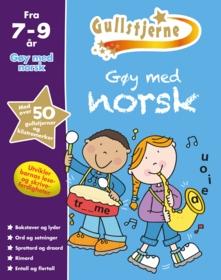 Gøy med norsk. Fra 7-9 år. Egenprod gullstjerne
