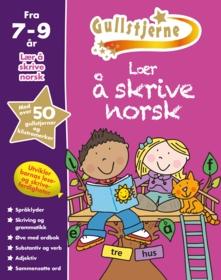 Lær å skrive norsk. Fra 7-9 år. Egenprod gullstjerne
