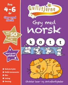Gøy med norsk. Fra 4-6 år. Egenprod gullstjerne