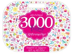 Aktivitetspad – 3000 FIIINE klistremerker